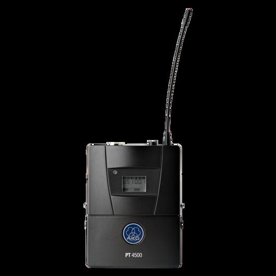 PT4500 Band3-K 10mW - Black - Reference wireless body-pack transmitter - Hero