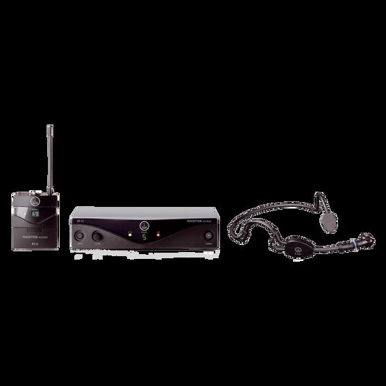 Perception Wireless 45 Sports Set Band-C2 - Black - High-performance wireless microphone system - Hero