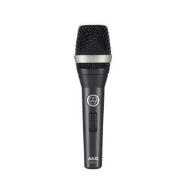 D5 S - Dark Blue - Professional dynamic vocal microphone with on/off switch - Hero
