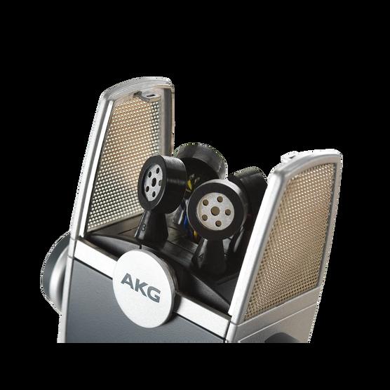 AKG Lyra - Silver - Ultra-HD Multimode USB Microphone  - Detailshot 2