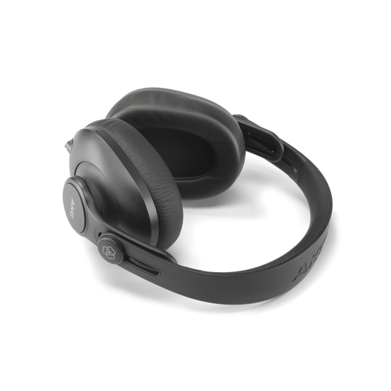 K361-BT - Black - Over-ear, closed-back, foldable studio headphones with Bluetooth - Detailshot 4
