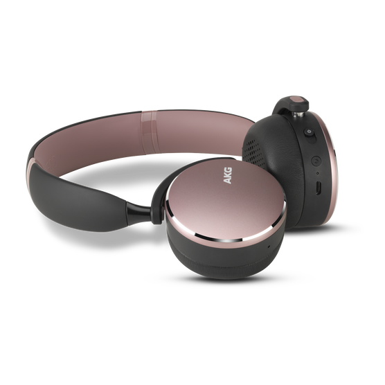 Y500 Wireless - Pink - Wireless on-ear headphones - Hero