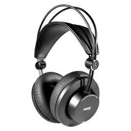 K275 - Black - Over-ear, closed-back, foldable studio headphones - Hero