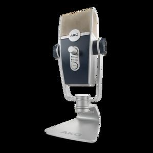 AKG Lyra - Silver - Ultra-HD Multimode USB Microphone  - Hero