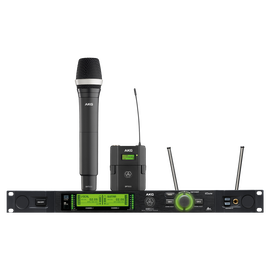 DMS800 - Black - Reference digital wireless microphone system - Hero