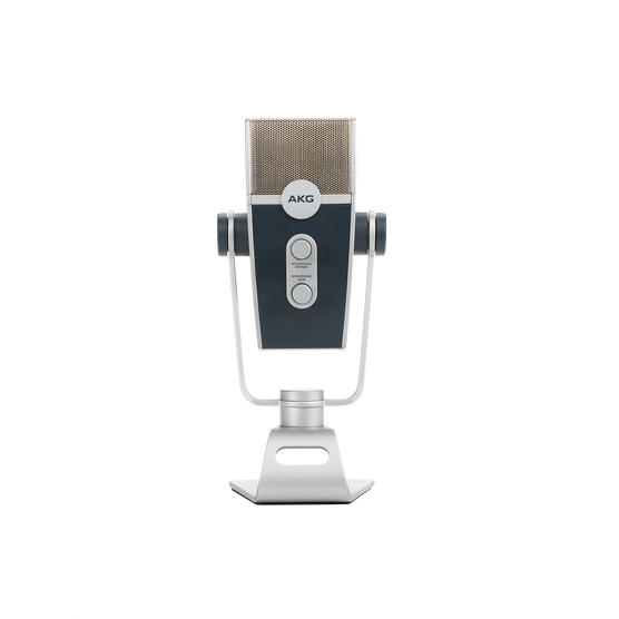AKG Lyra - Silver - Ultra-HD Multimode USB Microphone  - Back