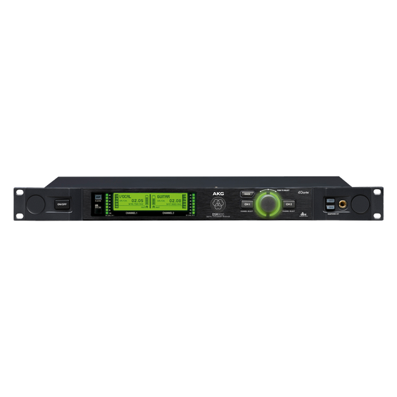 DSR800 Band1 - Black - Reference digital wireless stationary receiver - Detailshot 1