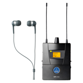 SPR4500 Set - Black - Reference wireless in-ear-monitoring system - Hero