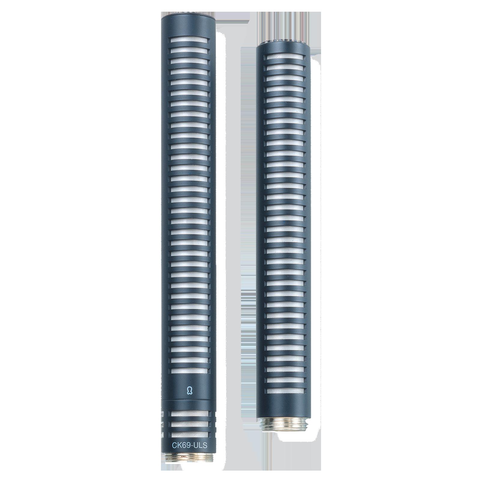 CK69 ULS - Black - Reference small condenser microphone shotgun capsule - Hero