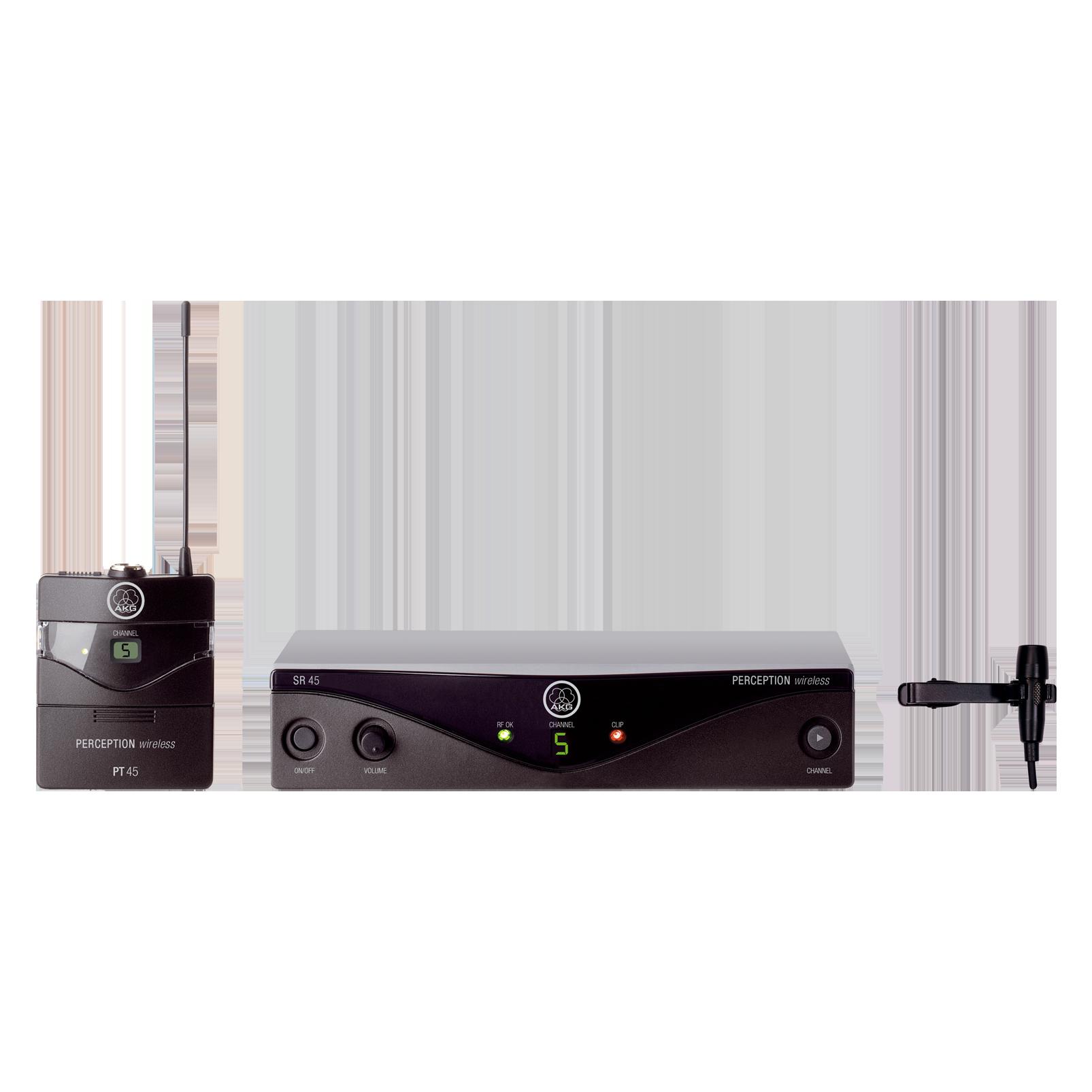 Perception Wireless 45 Presenter Set Band-C3 - Black - High-performance wireless microphone system - Hero